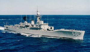 Ex-HMAS Swan